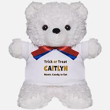 Caitlyn Trick or Treat Teddy Bear