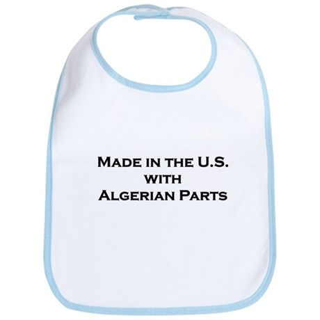 Made in the U.S. with Algerian Parts Bib
