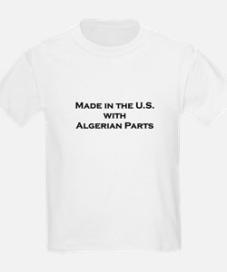 Made in the U.S. with Algerian Parts Kids T-Shirt