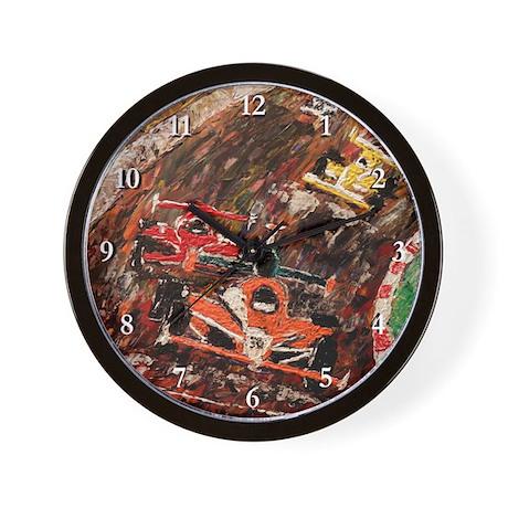 The Last Lap Wall Clock