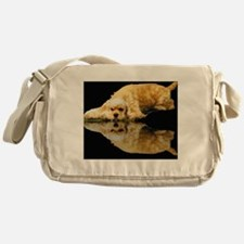 Cocker Reflection Messenger Bag