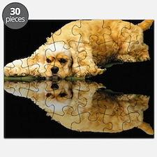 Cocker Reflection Puzzle