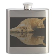 Cocker Reflection Flask