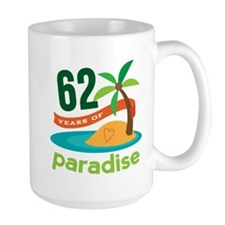 62nd Anniversary Paradise Mug