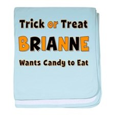 Brianne Trick or Treat baby blanket
