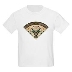 Victorian French Fan Kids T-Shirt