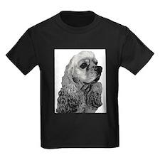 Sketched Cocker Head T-Shirt