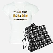 Brayden Trick or Treat Pajamas