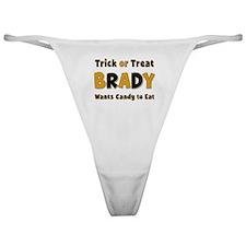 Brady Trick or Treat Classic Thong