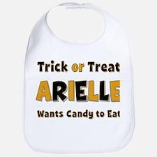 Arielle Trick or Treat Bib