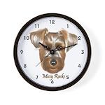 Missy Rocks Wall Clock