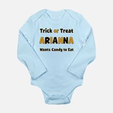 Arianna Trick or Treat Body Suit