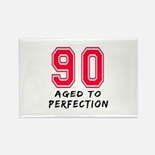 90 Year birthday designs Rectangle Magnet