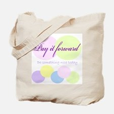 Pay it forward circles Tote Bag