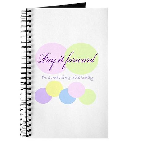 Pay it forward circles Journal