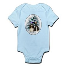 Shih Tzu Christmas Infant Bodysuit