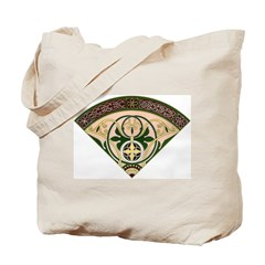 Victorian French Fan Tote Bag