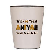Aniyah Trick or Treat Shot Glass