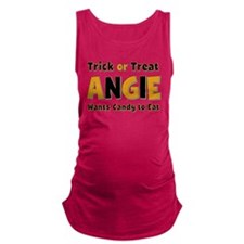 Angie Trick or Treat Maternity Tank Top