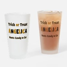 Angelica Trick or Treat Drinking Glass