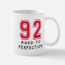 92 Year birthday designs Mug
