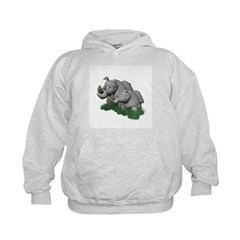 Mommy and Baby Rhino Hoodie