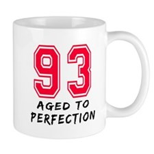 93 Year birthday designs Mug