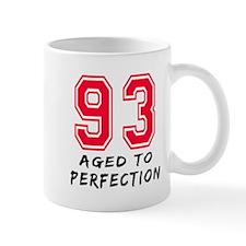 93 Year birthday designs Small Mug
