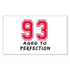 93 Year birthday designs Decal