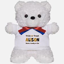 Alison Trick or Treat Teddy Bear