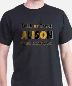 Alison Trick or Treat T-Shirt