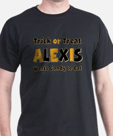 Alexis Trick or Treat T-Shirt