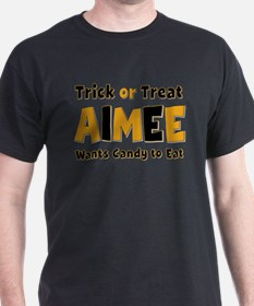 Aimee Trick or Treat T-Shirt