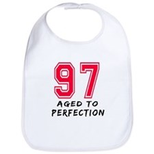 97 Year birthday designs Bib