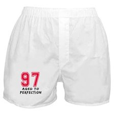 97 Year birthday designs Boxer Shorts