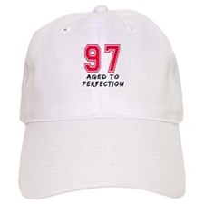 97 Year birthday designs Cap