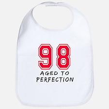 98 Year birthday designs Bib