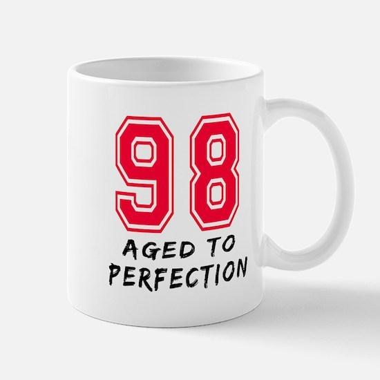 98 Year birthday designs Mug