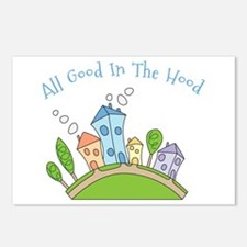 All Good In The Hood Postcards (Package of 8)