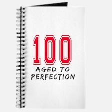 100 Year birthday designs Journal