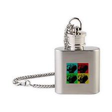 Pop Vizsla Flask Necklace