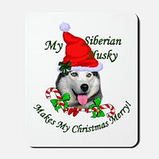Siberian Husky Mousepad
