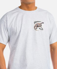 Dinosaurs Rock! Ash Grey T-Shirt