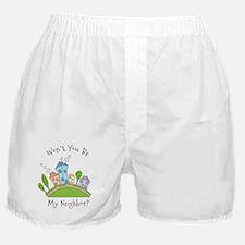 Wont You Be My Neighbor? Boxer Shorts