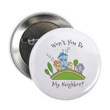 "Wont You Be My Neighbor? 2.25"" Button (10 pack)"