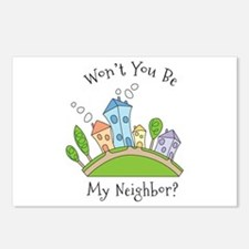 Wont You Be My Neighbor? Postcards (Package of 8)