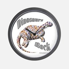 Dinosaurs Rock! Wall Clock