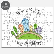 Wont You Be My Neighbor? Puzzle