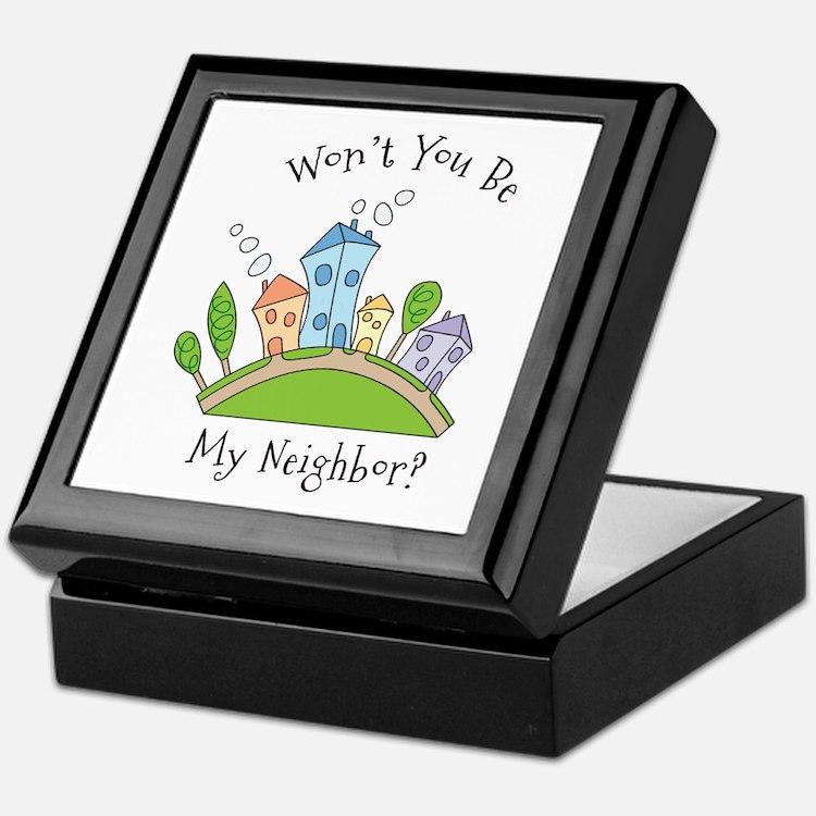 Wont You Be My Neighbor? Keepsake Box