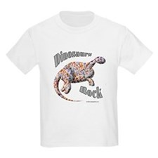 Dinosaurs Rock! Kids T-Shirt